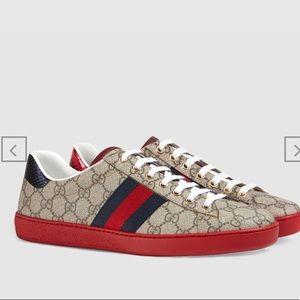 Gucci Men's Ace Supreme Sneakers